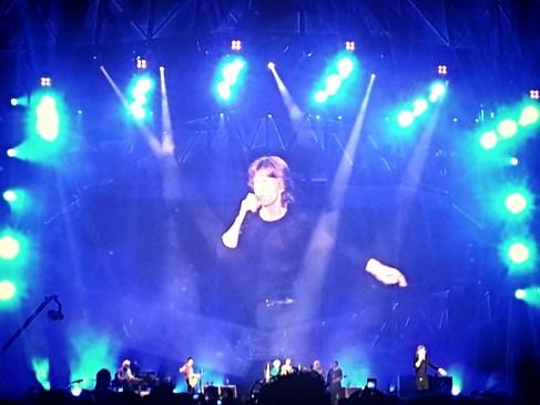 Mick Jagger en acción. Rolling Stones. 25 de junio. Madrid
