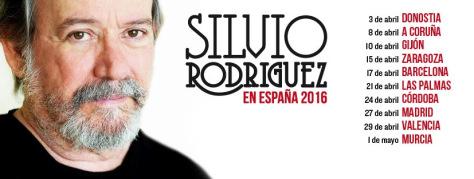 Gira silvio rodriguez españa 2016