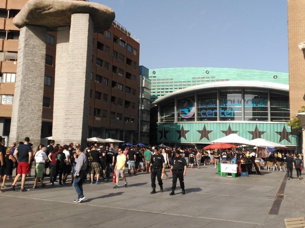 Puerta del Palacio de los Deportes_Scorpions