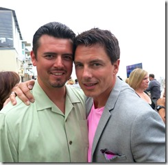 Shawn and John Barrowman