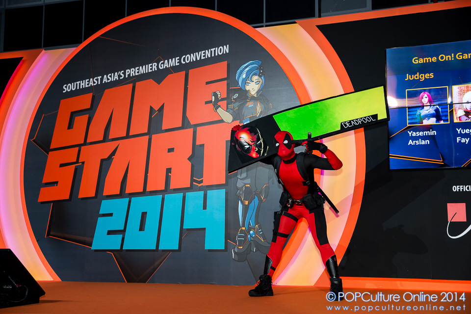 GameStart 2014 Game On Cosplay Competition Deadpool