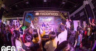 AFASG 2014 niconico dj stage Suntec Singapore Convention & Exhibition Centre