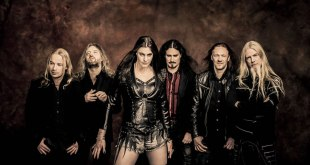 Nightwish Endless Forms Most Beautiful World Tour 2015 - 2016 Publicity Photo