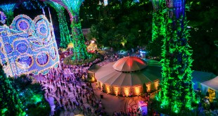 Christmas Wonderland Gardens by the Bay 2015 Festive Grounds