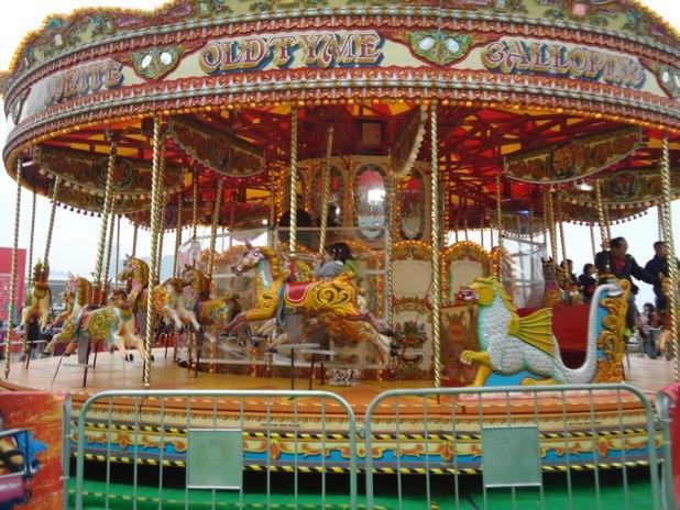 Christmas Wonderland Gardens by the Bay Carousel