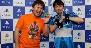 GameStart 2015 Street Fighter V Yoshinori Ono Tomoaki Ayano Interview Playstation