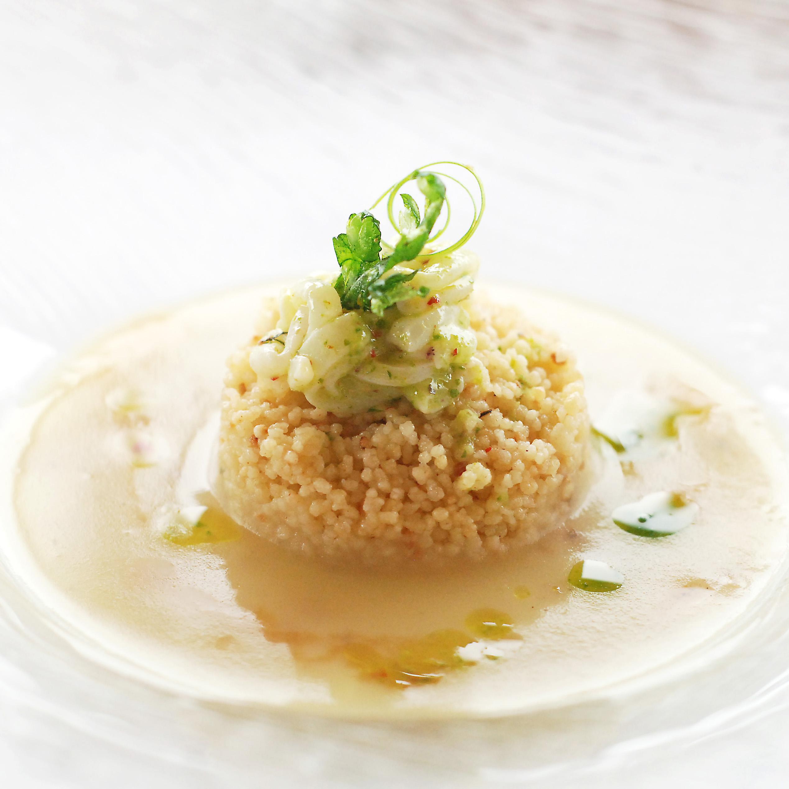 Crema-di-patata-De.Co-di-SantEufemia-cous-cous-e-tagliatelline-di-calamaro-e-sentore-di-sigar_Chef-trovato