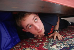 man hiding under bed Lady or Not? Part 2