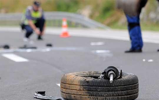 Сообраќајка на патот Гостивар-Скопје, загина жена