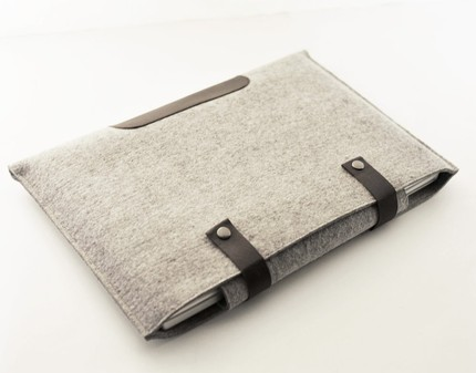 Byrd&Belle Laptop Sleeves Made of Felted Wool