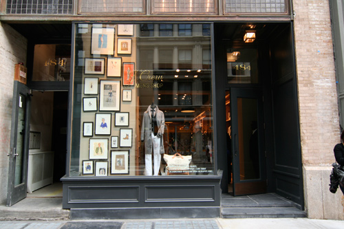 J.Crew Men's Shop, SoHo
