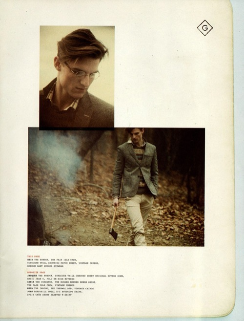 In Action   Gant Rugger Fall/Winter 2010 Collection