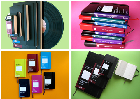 Moleskine Planners/Diaries Collection 2011