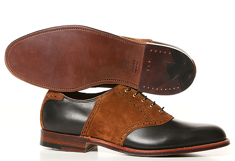 Alden for Blackbird Leschi Picnic Saddle Shoe