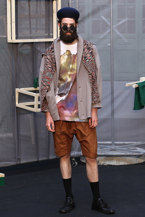 Henrik Vibskov Spring/Summer 2012 Collection
