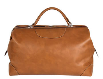 The Want | Calabrese Napoli Leather Doctor's Bag