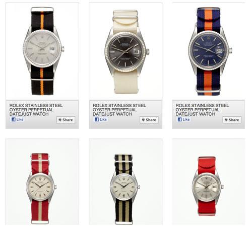 Hodinkee for GiltMAN | Vintage Rolex Watches on NATO Straps