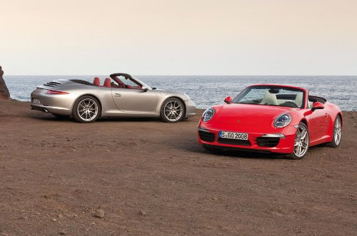 2012 Porsche 911 Carrera and 911 Carrera S Cabriolet