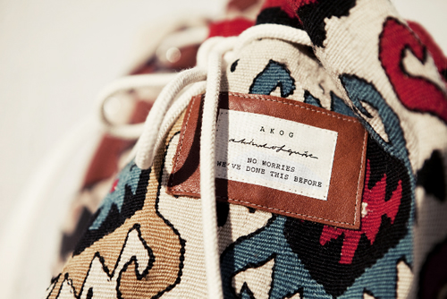 A Kind of Guise 'Kilim Project' Bags