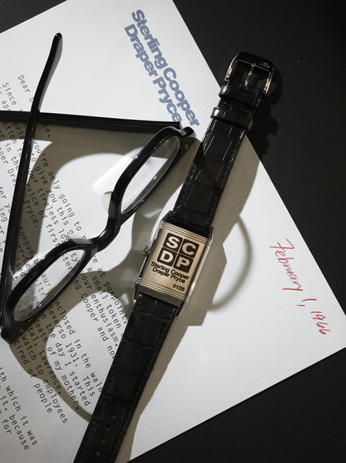 Jaeger-LeCoultre Reverso Ultra-Thin Tribute To 'Mad Men'