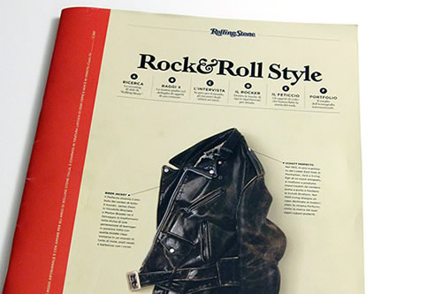 Rolling Stone Italy Debuts Rock & Roll Style, Vol. 1