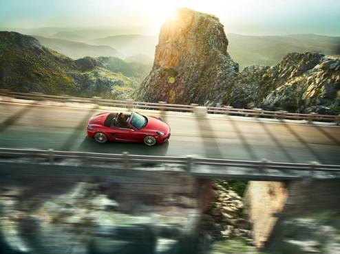 The 2015 Porsche Boxster GTS is priced from $73,500, excluding