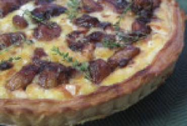 Caramelized Garlic Tart