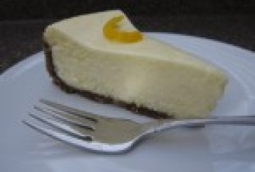 Meyer Lemon Cheesecake with Speculaas Crust