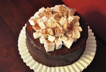 Pork Cracklins | Hot Chocolate Layer Cake with Homemade Marshmallows