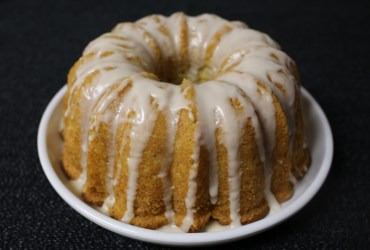 Vanilla Bean Malt Cake | Pork Cracklins
