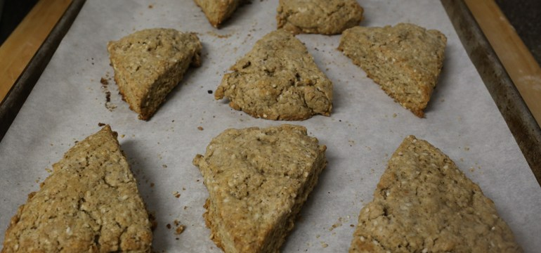 Chinese Five Spice Scones | Pork Cracklins