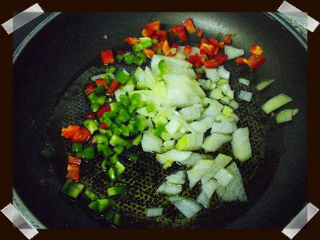 Pochamos las verduras
