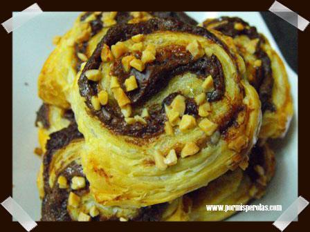 Caracolas de Nutella