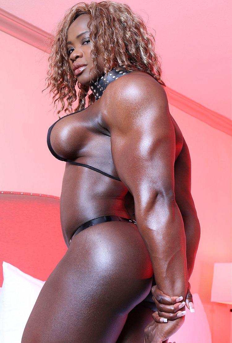 black muscle women anal