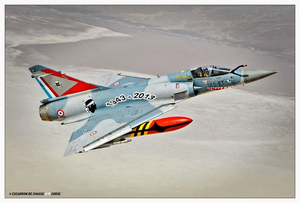 L'escadron 3/11 Corse fête ses 70 ans