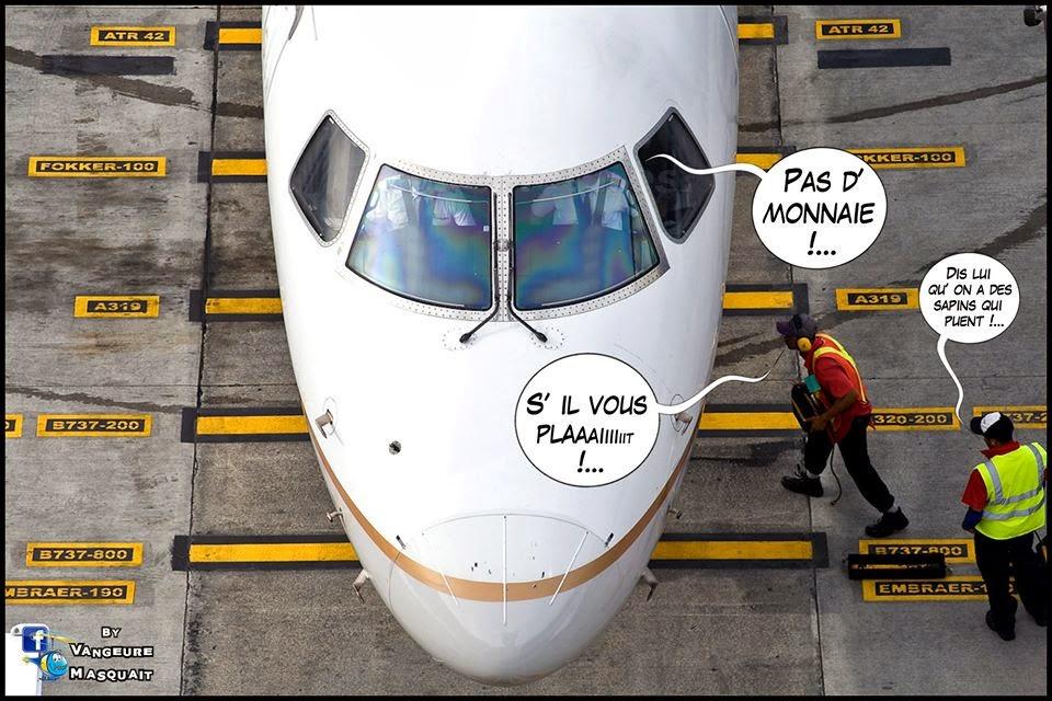 HUMOUR: Histoires de pilotes, quelques images de Vangeure Masquait pour retrouver le sourire!