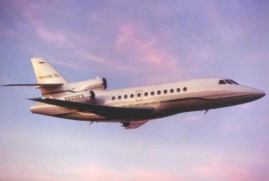 Trente ans de Falcon 900