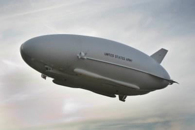 Prototype LEMV, capable de voler pendant plusieurs semaines. Crédit: Hybrid Air Vehicles