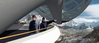 """Passerelle d'observation"" AIRMOTION, Arnold Freidling & Markus Speck, 2003"