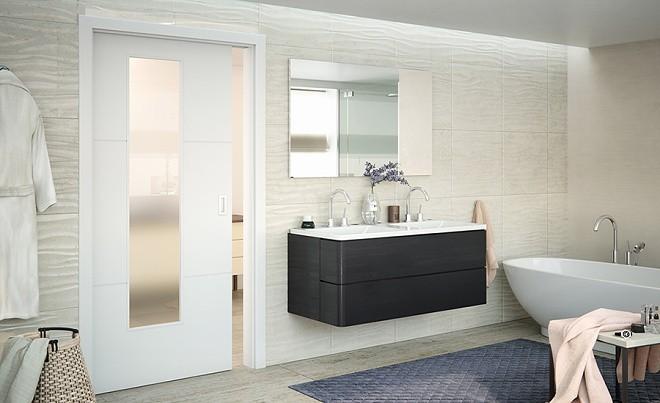 Jak vybrat vhodné koupelnové dveře