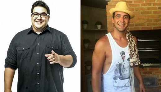 Top 10 - Famosos que perderam muito peso