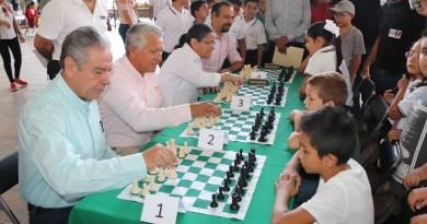 Realiza SE Primer Torneo Escolar de Ajedrez Niños Héroes de Chapultepec