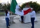 Realizan ceremonia cívica del 172 Aniversario de la Gesta Heroica de los Niños Héroes de Chapultepec en Coahuayana