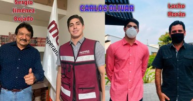 Carlos Olivar Sánchez se autonombra Dirigente de los jóvenes de MORENA en Colima; redes sociales explotan en su contra