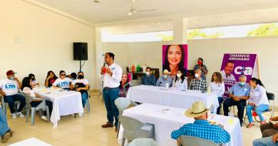 Promete Martín Pinto más impulso a ejidatarios, trabajadores y empresas agrícolas; ellos son el orgullo de Colima