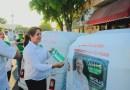Mototaxis respaldan al Partido Verde en Tecomán