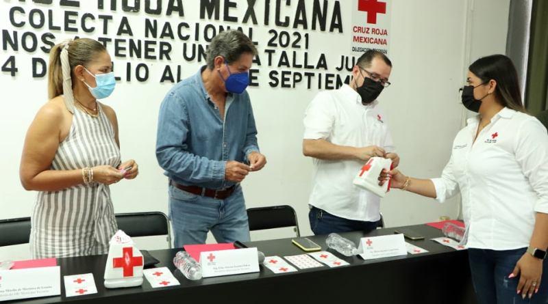 Con aportación en la colecta, prolongariamos los servicios de Cruz Roja Tecomán: Mario López Ortiz