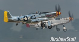 Mustang Mania! Mass P-51 Mustang Takeoffs, Formation, and Flybys – EAA AirVenture Oshkosh 2015