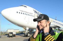Iron Maiden – Ed Force One take off from Fortaleza
