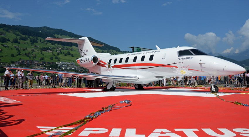 Protótipos do Pilatus PC-24 completam mais de 500 horas de voo